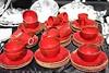 Vecchie tazze rosse (Filippo Marroni) Tags: red market marroni rosso colori filippo mercatino mercatini tazze