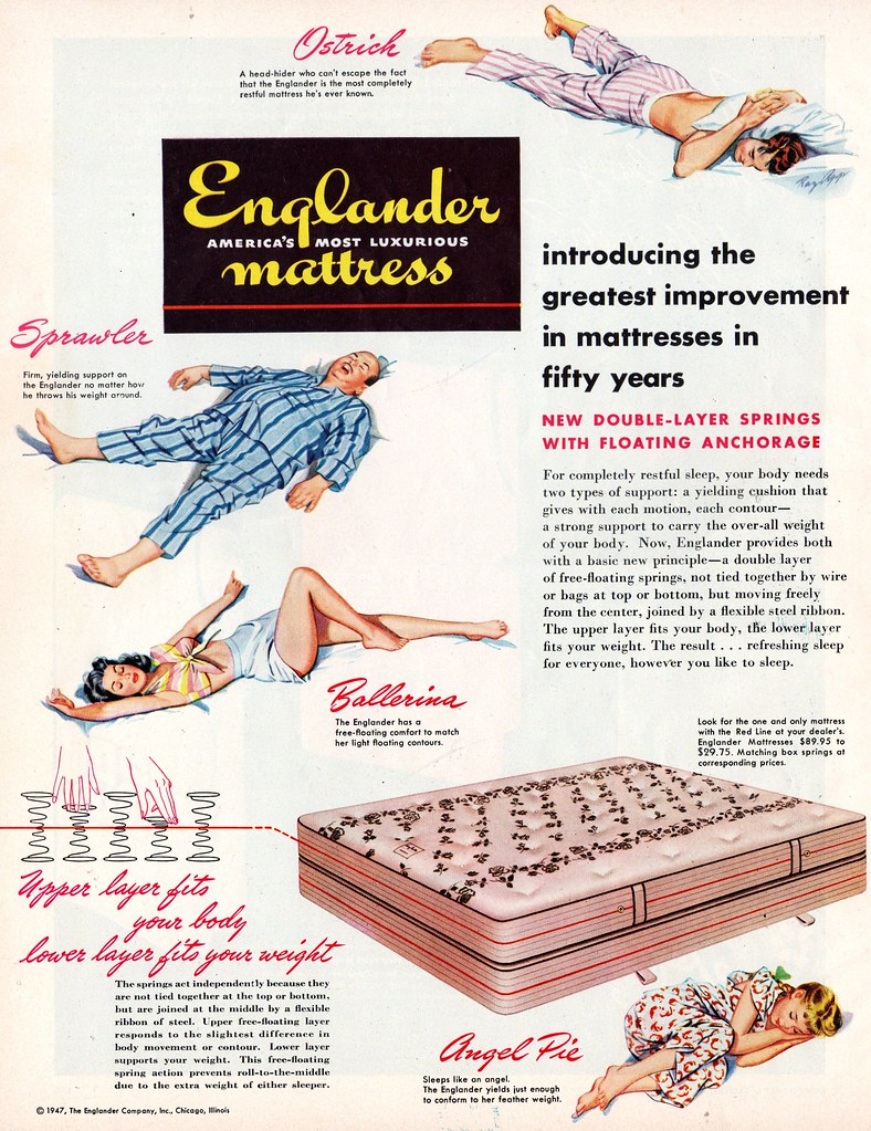 introducing the greatest improvement in mattresses in fifty years
