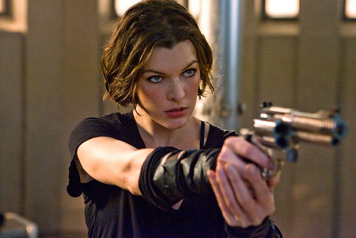 Milla Jovovich as Alive in Resident Evil: Afterlife