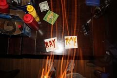 IMG_7654 (imkylephotographs) Tags: show beer sock ray ketchup underwear straw mustard sharpie pint catchup rayray