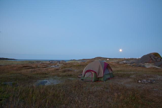 Campsite in NFLD.
