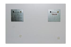 Whitewall Fotoabzug unter Acrylglas