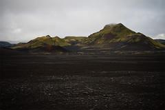 green islands. (kriechstrom) Tags: mountain black green berg island iceland moss stones steine grn schwarz moos