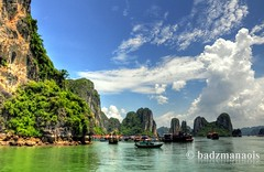 Missing Halong Bay (badzmanaois) Tags: trees mountains green heritage forest restaurant bay site fishing junk rocks vietnamese village fishermen floating peaceful unesco vietnam exotic zen limestone waters serene karst halong formations greensea geologic gettyimagessingaporeq2