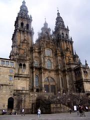 Santiago. Catedral. Fachada del Obradoiro