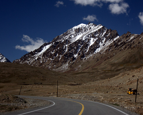 Karakoram Highway Ascent to the Khunjerab Pass