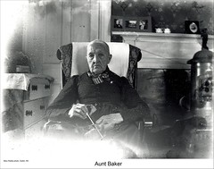 Aunt Baker of Dublin New Hampshire (Keene and Cheshire County (NH) Historical Photos) Tags: people women fireplace woodstove dublinnh dublinnewhampshire auntbaker maryerobbe