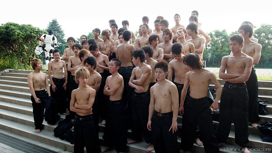 Japanese School Boys