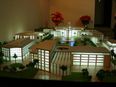 model of planned new architecture in Juba (by: BBC World Service, noncommercial license)