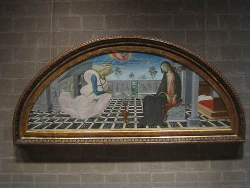 The Annunciation, c. 1480, Nerocio de Landi _7704