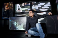 Aamir Khan at the National Media Museum