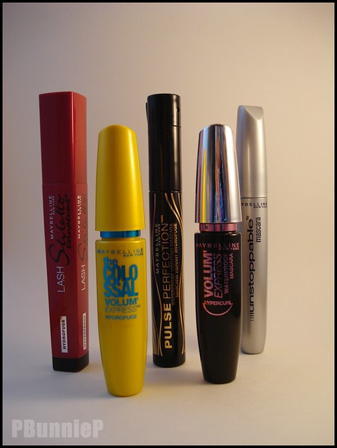 Maybelline Mascara group shot