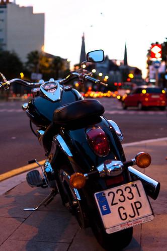 moto in Barcelona