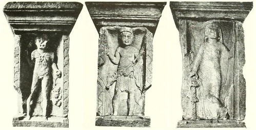 Three ancient Gods of the early Roman Empire