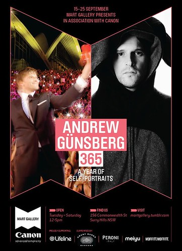 Andrew Gunsberg exhibition poster