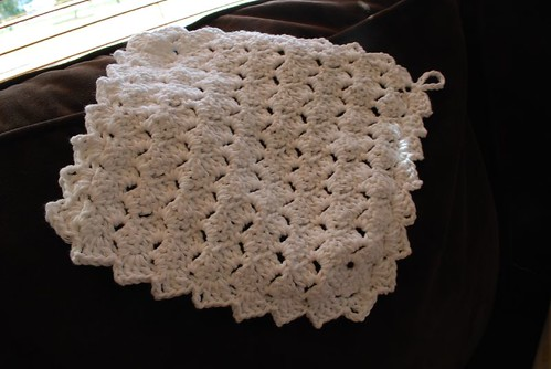 Tulip stitch dishcloth by 6060eyes