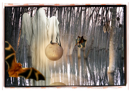 Hallowe'en #8 - Halloween greeting cards by bindlegrim aka Robert Aaron Wiley  (2004)