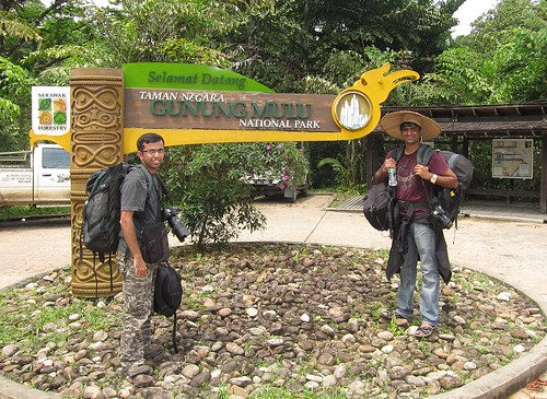 At Gunung Mulu national park