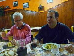 Middag San Biagio herrarna Sandro/Anders Photo
