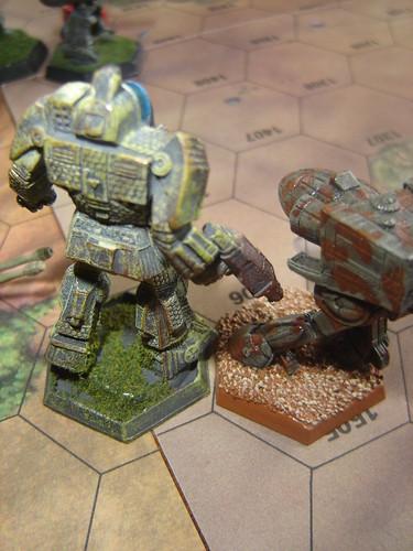 Battlemaster Kneecaps