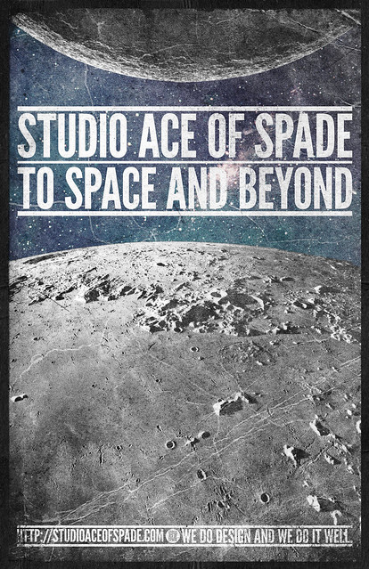 Studio Ace of Spade - Monthly poster series - September 2010 - Act I