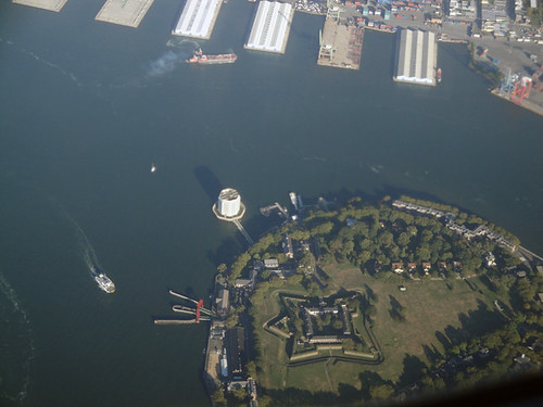 Governor's Island from above