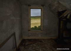 Room With A View (/ shadows and light) Tags: old windows house abandoned dark decay room wheat tracks manitoba textures wallpapers agriculture abandonment decayed ruralexploration stalphonse rurex pembinavalley tokina1116