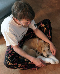 Perfect Fit (cobalt123) Tags: arizona home phoenix puppy snapshot drew happiness buddy firstphotos doggoneit