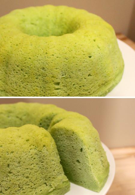 Steam Pandan Cake