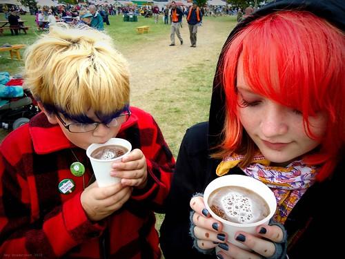 hot cuppa cider