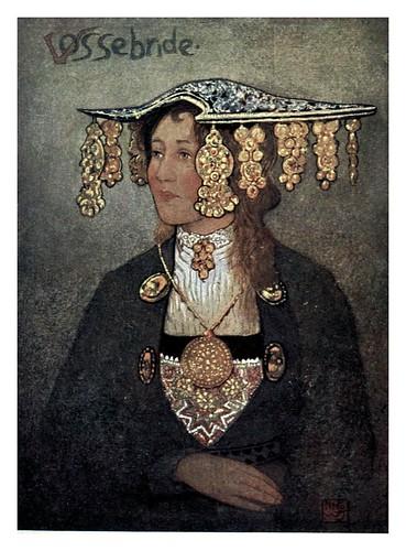 020- Joven noruega en traje de novia-Norway 1905 -Nico Jungman