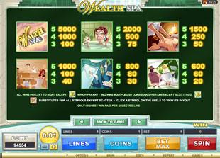 free Wealth Spa slot mini symbol