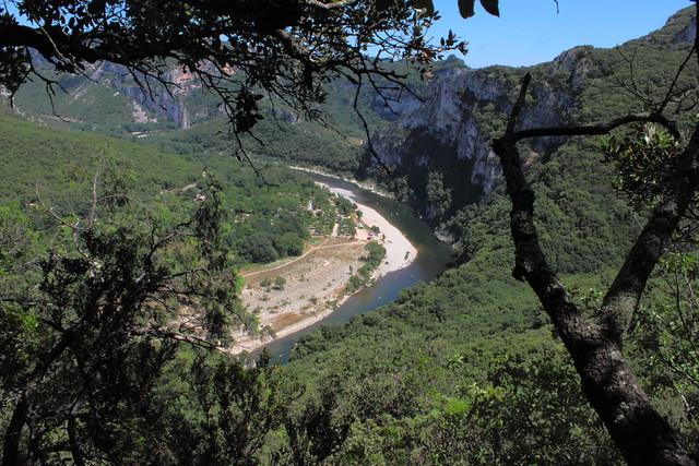 Méandre de l'Ardèche