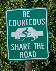 Be Courteous Share the Road