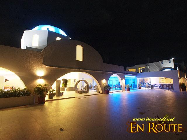 Thunderbird Resort at Night