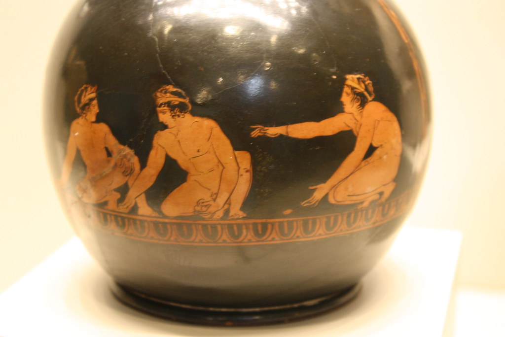 A Remarkable Attic Red-figure Chous Attributed to the Group of Boston 10.190: Young Boys Playing Astragals; A Masterpiece of Attic Vase-Painting and Compositional Spatiality