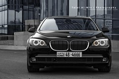 BMW 750Li (Talal Al-Mtn) Tags: light red orange white black car canon silver eos rebel cool automobile power shot d 5 garage gear automotive automatic bmw series m3 rims 450 2009 m5 v8 v10 545 xsi q8 somke 450d lm10 inkuwait bmwseries5 talalalmtn  bytalalalmtn