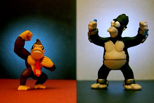Donkey Kong vs. King Homer (271/365)