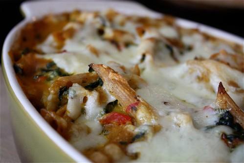 Creamy Butternut Squash and Shrimp Pasta Bake Recipe