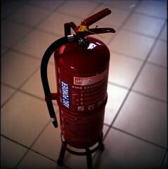 fire extinguisher (akmalismail) Tags: kodak kualalumpur chiyoko rokkor ektacolor thegardens akmal minoltaflex pro160 akmalismail