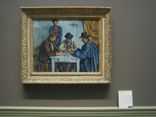 The Card Players, 1890-92, Paul Cézanne _8402