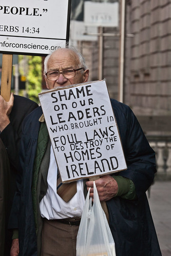 European Day Of Action: Protests In Dublin - September 29th.