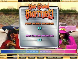 free Big Time slot bonus prize