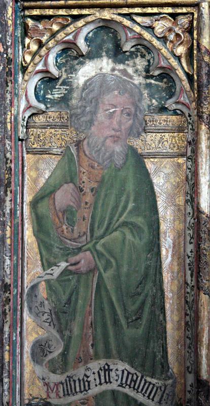 Bramfield, Suffolk, St. Andrew's Church, the rood screen.
