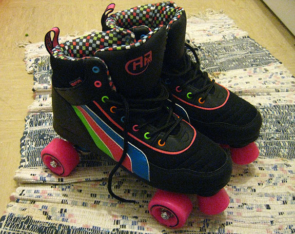 my very own skates!