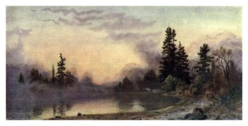 010-Niebla nocturna en Muskoka-Canada-1907- Thomas Martin Mower