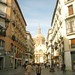 The streets of Zaragoza