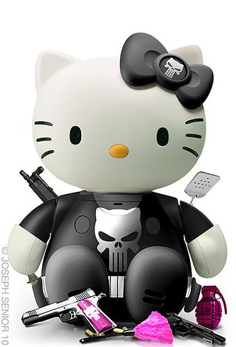 5044150700 8a24a03cb0 Funny Hello Kitty Mashups by Yodaflicker