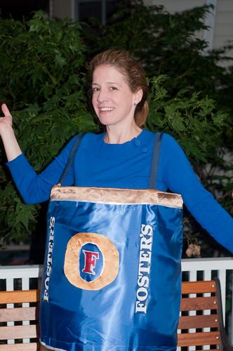 Kate as Beer