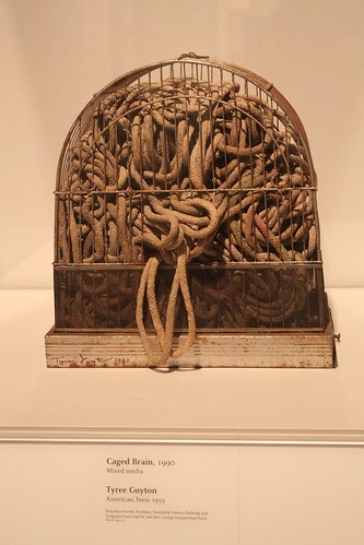 DIA Art: Caged Brain